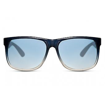 Sunglasses Unisex Rectangular Full Framed Cat. 3 blue/light blue