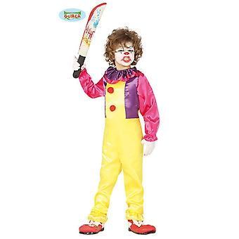 Böser Clown Es Horror Clown Halloween Kinder Kostüm