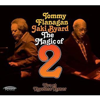 Tommy Flanagan & Jaki Byard - Magic of 2: Live at Keystone Korner [CD] USA import