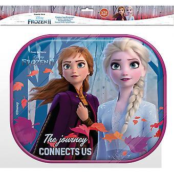 zonneschermen Frozen meisjes 44 cm mesh 2 stuks