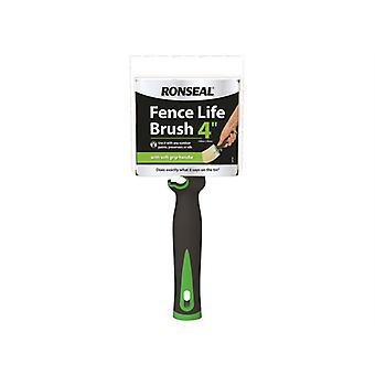 Ronseal Soft Grip Fence Life Brush 100 x 40mm RSLFLBRUSH
