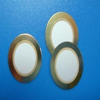 Buzzer 25mm Diameter Bare Copper Piezoelectric Ceramic Pieces Film Gasket New And Original