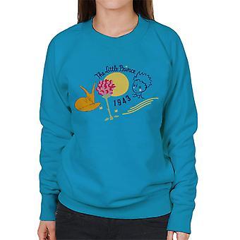 The Little Prince Fox & Rose 1943 Women's Sweatshirt