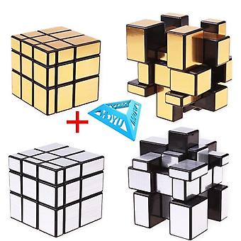 Magic Mirror Cubes Cast Coated Puzzle - professionelle Speed Cube Bildung Spielzeug