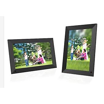 10.1 Inch Wifi Wooden Digital Photo Frame, avec ios Android 6.0operating System