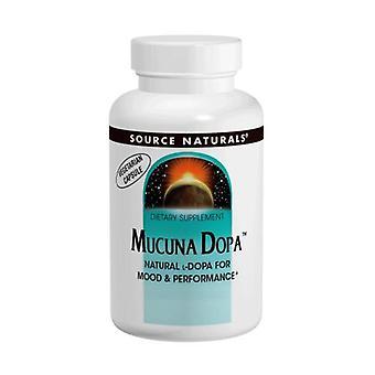 Källa Naturals Mucuna Dopa, 100 Mg, 120 vegi caps