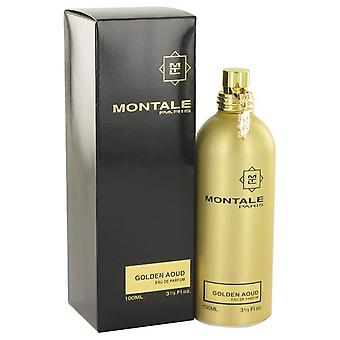 Montale Golden Aoud Eau De Parfum Spray av Montale 3.3 oz Eau De Parfum Spray