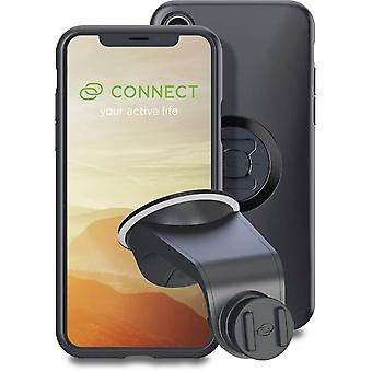 sp connec black iphone xs/x case and suction mount
