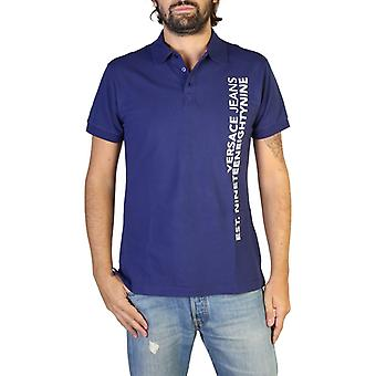Versace jeans b3gtb7p6 masculino'camisa polo de mangas curtas