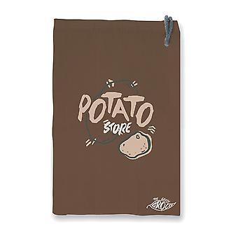 Die grüne Lebensmittel-Kartoffel-Aufbewahrungstasche