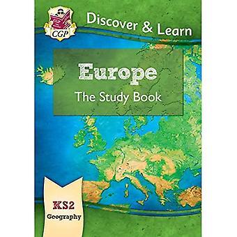 Novo KS2 descubra & aprender: Geografia-livro de estudo da Europa