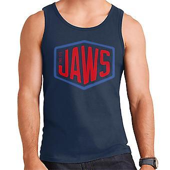 Jaws Since 1975 Red Text Men's Vest