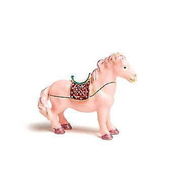 Roze Paard - Doos Trinket