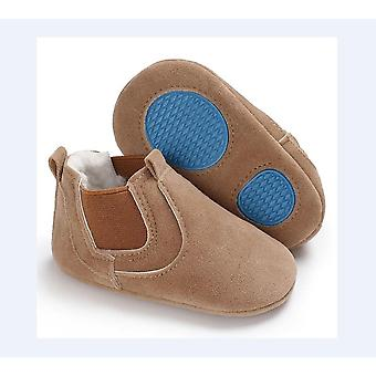 Newborn Baby Leather Soft Sole Crib Shoes