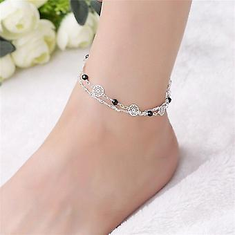 Bohemian Chain Beads Anklet Beach Bracelet Diy Foot Jewelry