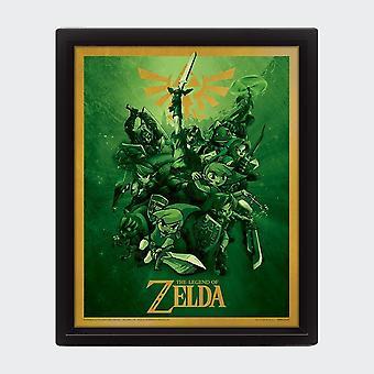 The Legend Of Zelda Framed Poster