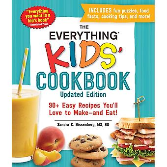 The Everything Kids Cookbook Updated Edition by Nissenberg & Sandra K