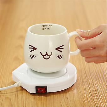 Heater Pad Electric Powered Electric Powered Cup Warmer  (white)