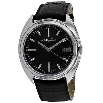 Mathey Tissot Men's Classic Black Dial Watch - EG1886AN