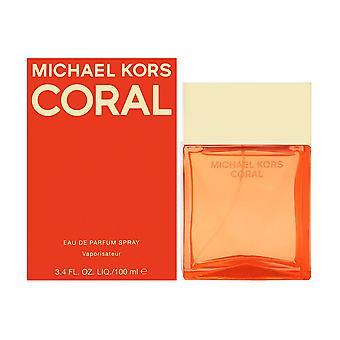 Michael kors coral for women 3.4 oz eau de parfum spray