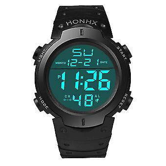 Men Digital Watches Waterproof, Sport Quartz Wristwatches Masculino Military