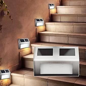 Waterproof Wall Lamp Outdoor Led Solar Garden Light For Patio Pathway Stair