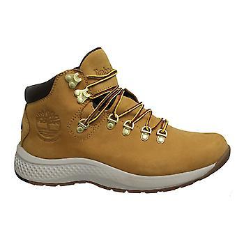 تيمبرلاند Aerocore منتصف المتجول المقاوم للماء الجلود القمح الدانتيل حتى الرجال الأحذية A1RLZ
