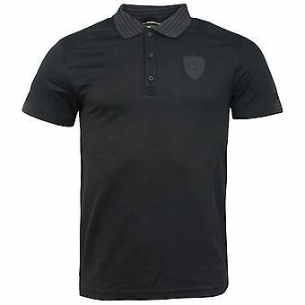 プーマフェラーリムーンレスナイト3ボタンアップ襟付きメンズポロシャツ569354 01 A6E
