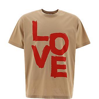 Burberry 8037585a7405 Men's Beige Cotton T-shirt