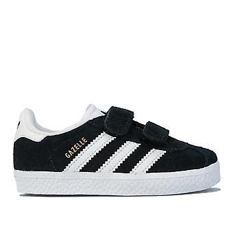 Boy's adidas Originals Infant Gazelle Trainers in Black