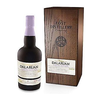 Selezione vintage Dalaruan dell'azienda di distilleria perduta. 700ml, 43% vol, scatola di legno, fini sherry