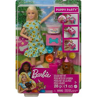 Barbie Puppy Party Playset