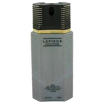 Lapidus Eau De Toilette Spray (Tester) By Ted Lapidus 3.4 oz Eau De Toilette Spray