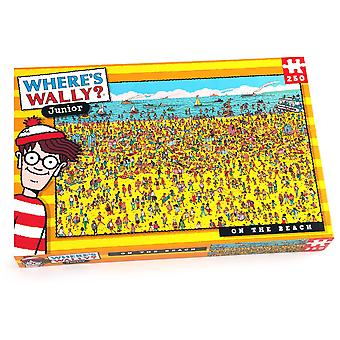 University Games Where's Wally Beach 250pc Puzzle
