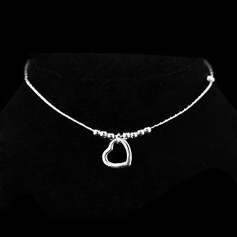 Fashion Sterling Ladies Silver Anklets Bracelet Chain