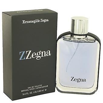 Z Zegna Eau De Toilette Spray por Ermenegildo Zegna 3,3 oz Eau De Toilette Spray