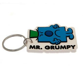 Mr Men PVC Mr Grumpy Keyring