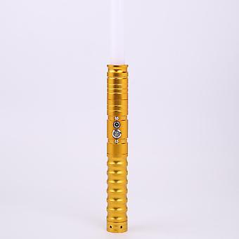 Eco Rgb Light Saber Heavy Dueling Cu 1.5 mm Blade Metal Handle Foc Lock-up
