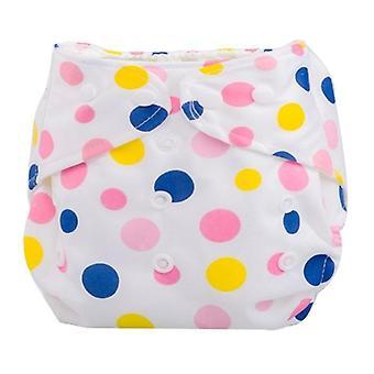 1pc Reusable Waterproof Digital Printed Baby Cloth Diaper (newborn)
