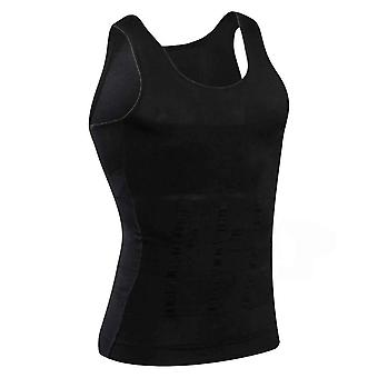 Corset Body Slimming, Tummy Shaper & Vest Belly Waist Girdle, Shirt Shapewear