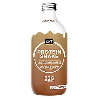 QNT Nutrition Protein Shake Cookies&Cream 500 ml