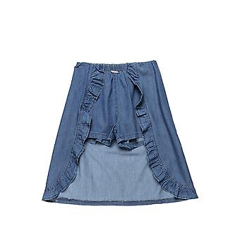 Alouette Girls' Jeans Skirt With Integrated Shorts