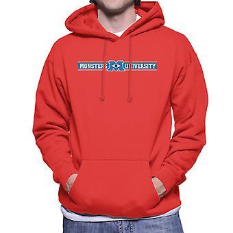 Pixar Monsters University Banner Logo Heren's Sweatshirt met capuchon