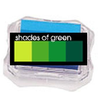 Uchida Blending Blox Ink Pads - Shades Of Green
