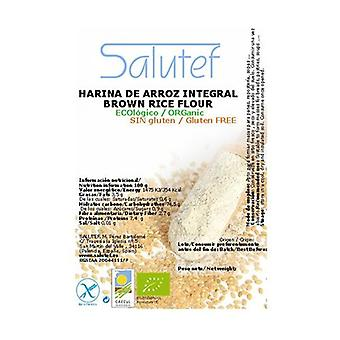 Brown rice flour ECO 1500 g of powder