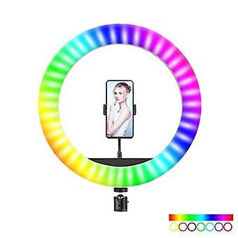 RGB LED Selfie Round Light USB RingLight