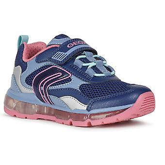 Geox Piger Android Light Undervisere Navy Fuchsia
