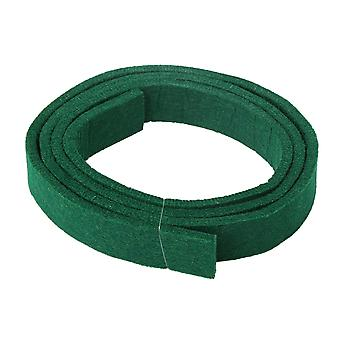 Piano Green Spring Rail Felt Strip 47.24Inch Long 0.98Inch Wide 0.2Inch Thick