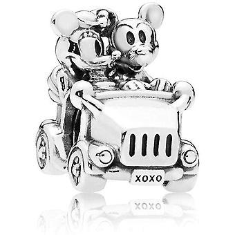 PANDORA Disney Mickey & Minnie Vintage Car Charm - 797174