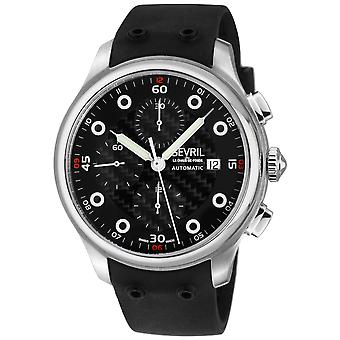 Gevril Men's Canal  St Automatic Chronograph Watch